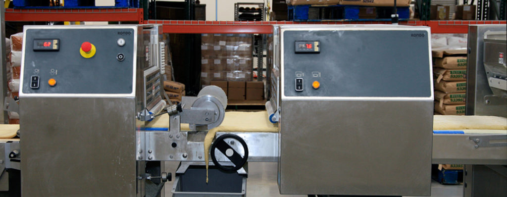 High-tech automated computer controls for a food service manufacturing business