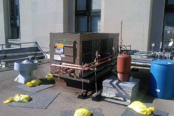 Chiller system for downtown Pittsburgh's  building