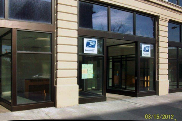 Post Office remodeling completed by KJ Johnston, Ltd.